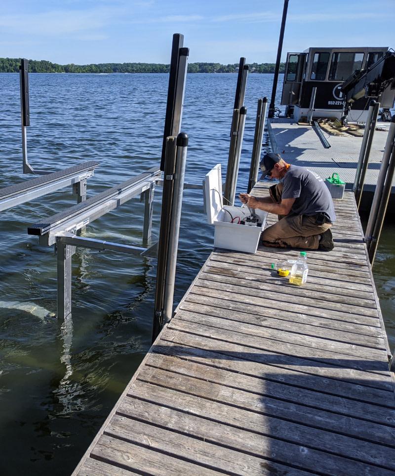 boat lift repair near me