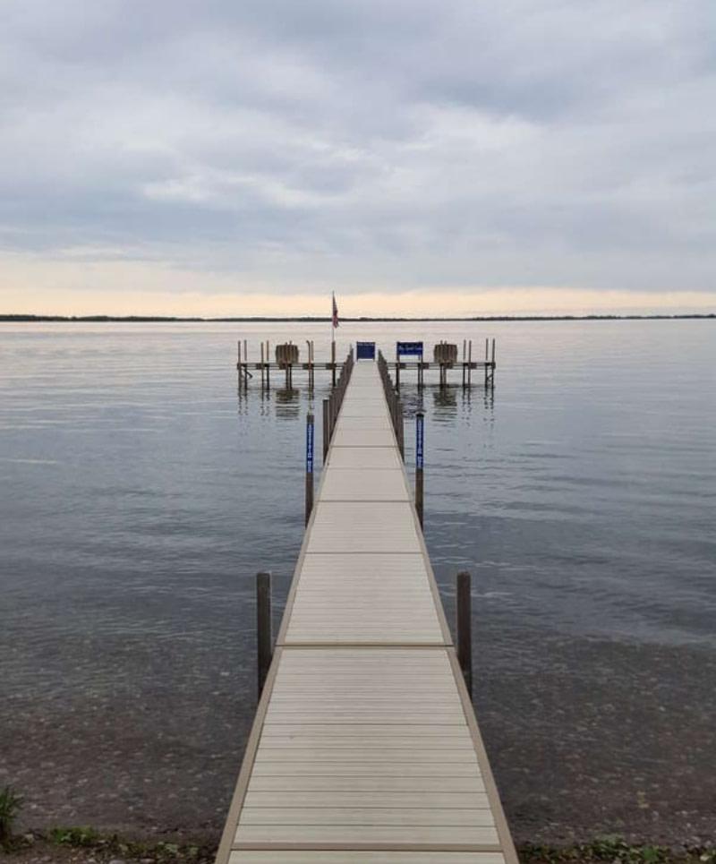 dock installation lake minnetonka