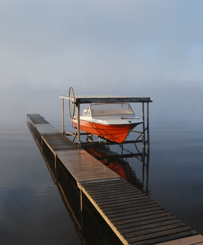 Boat Lift Removal in Minnetonka