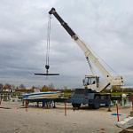 install a boat lift
