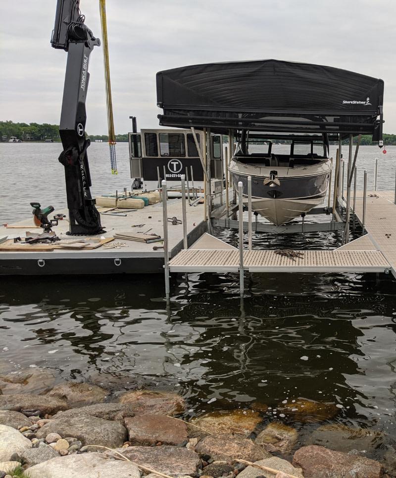 boat lift installation near me